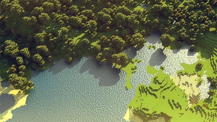 Minecraft - Einzigarte Landschaften