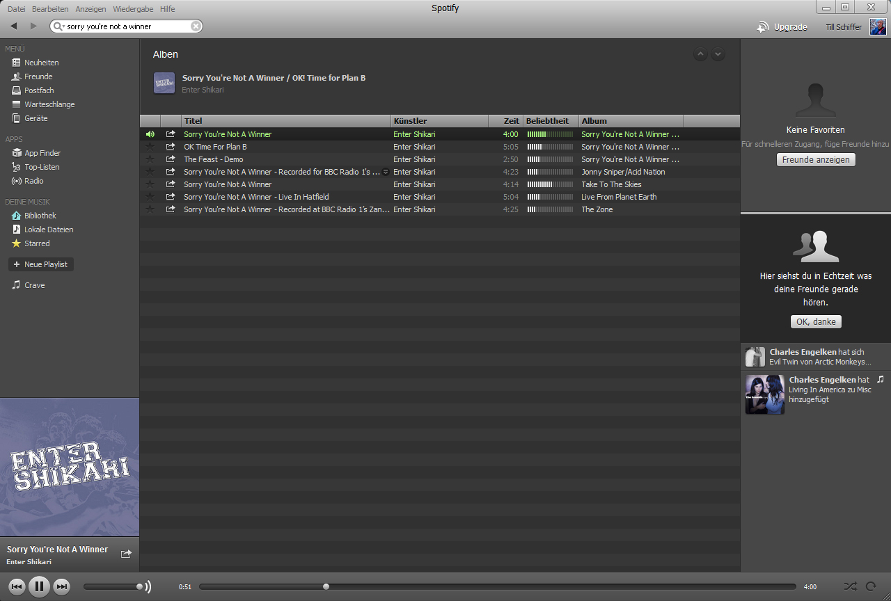 Spotify - Das Programm im Detail