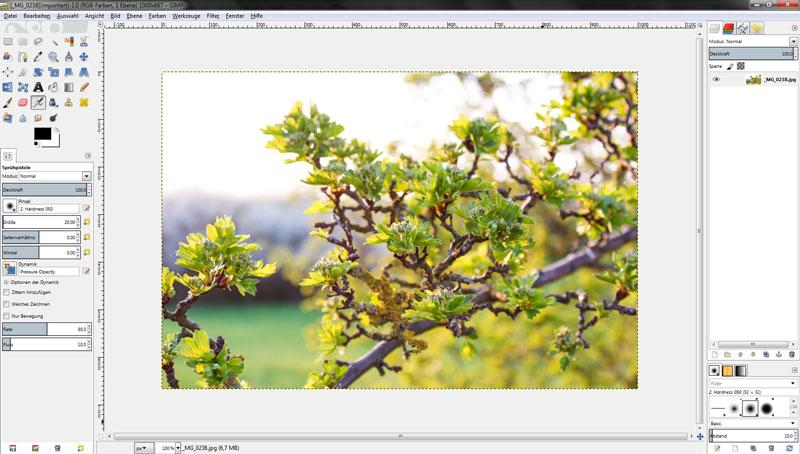 GIMP 2.8 - Jetzt mit Einzelfenster Modus!