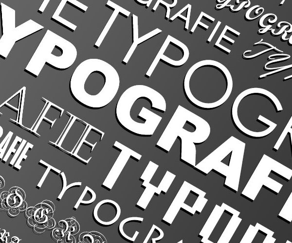 Typografie Trend
