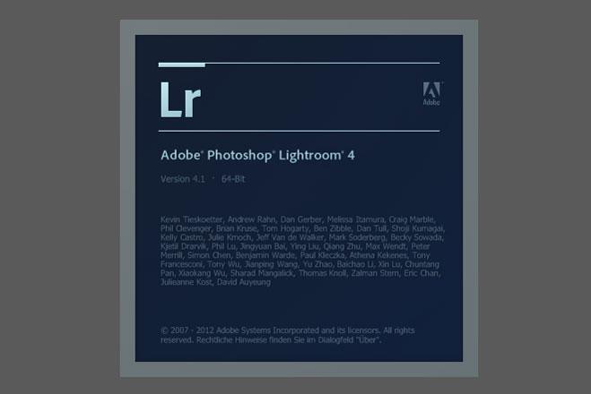 Lightroom 4.1