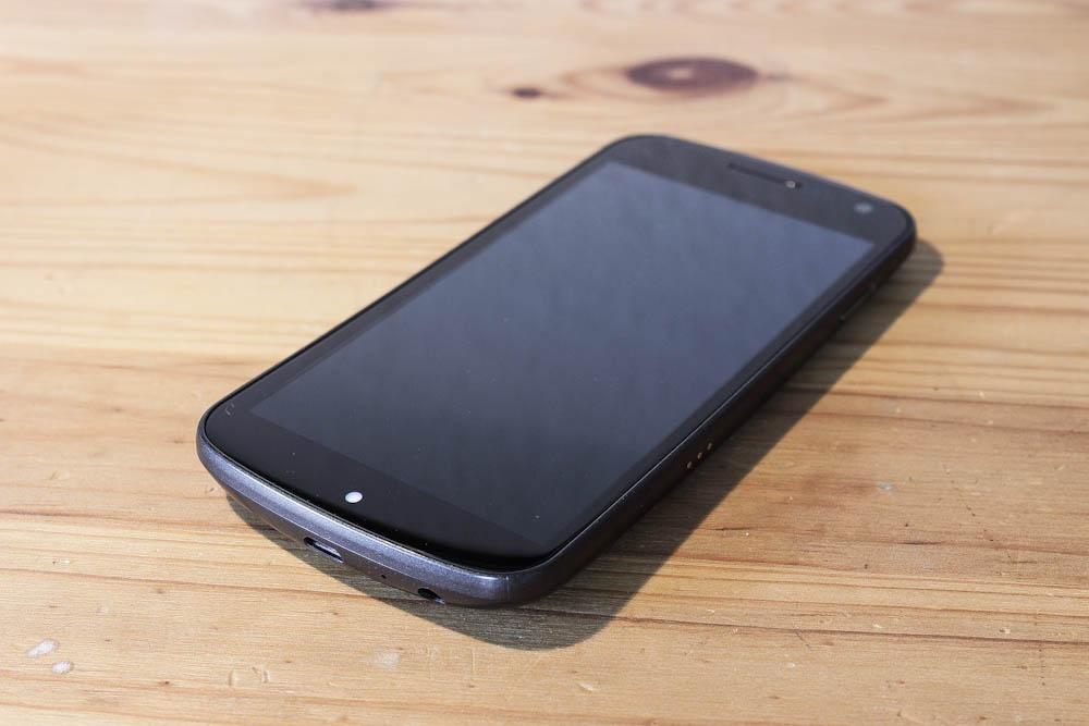 Galaxy Nexus - Front