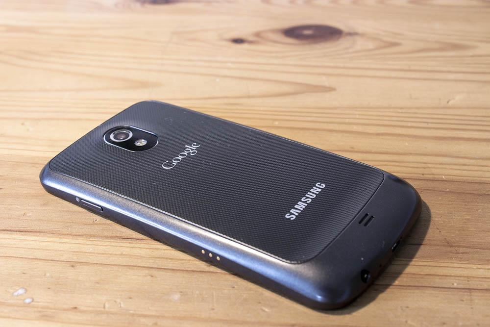 Galaxy Nexus - Rückseite