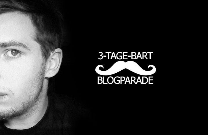 Die 3-Tage-Bart Blogparade - Teaser