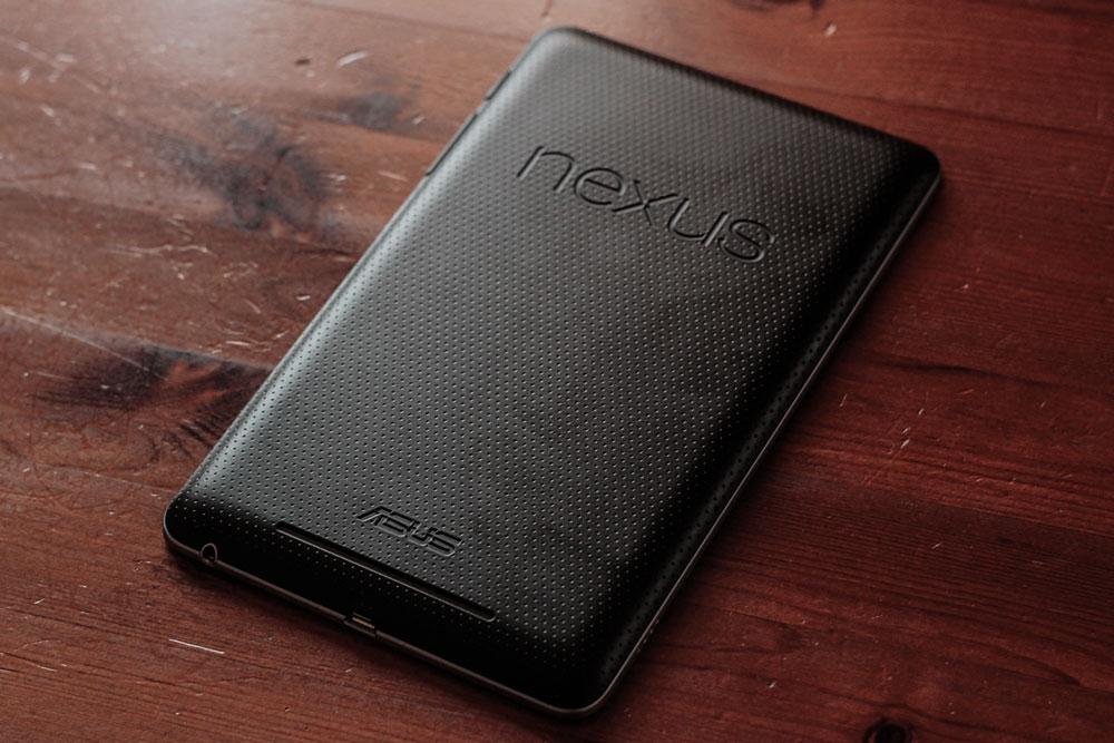 Review: Google (ASUS) Nexus 7 - Bild 01
