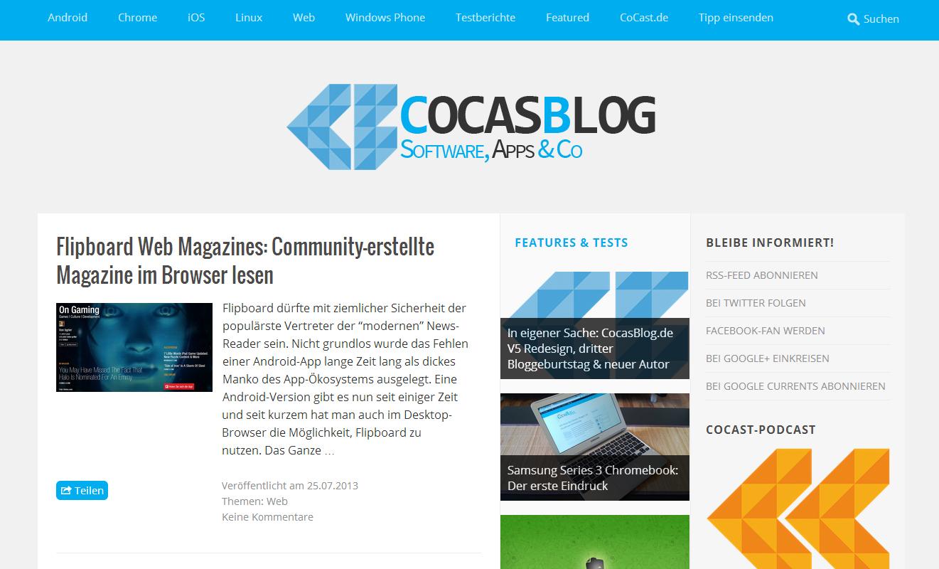 Follower Friday - Cocasblog
