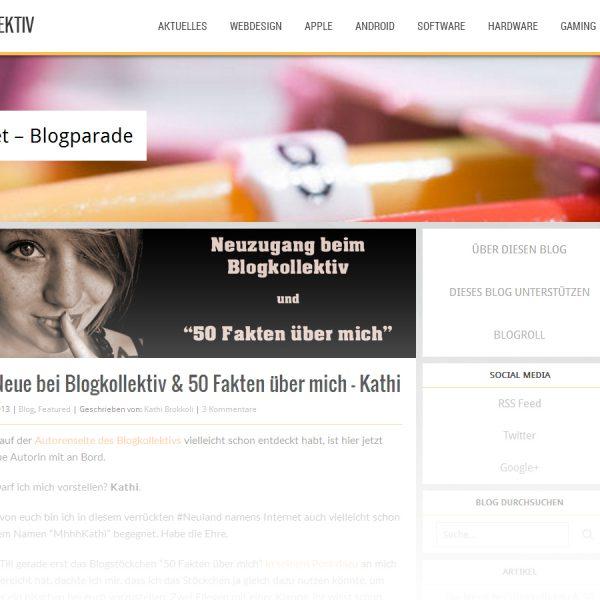 Blogkollektiv mit neuem Anstrich!