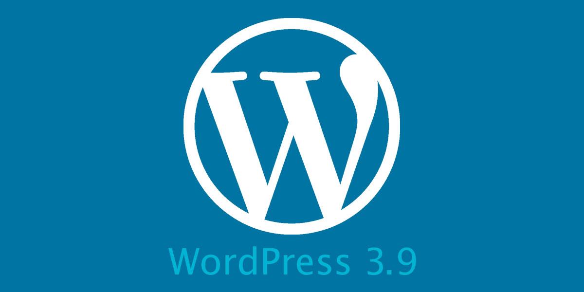 WordPress 3.9