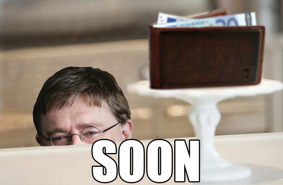 Steam Summer Sale - Gabe Newell