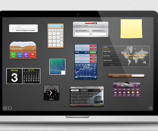 Mac OS X - Dashboard